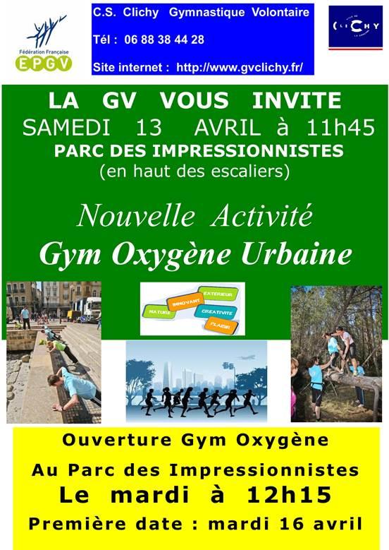 Gym oxygene