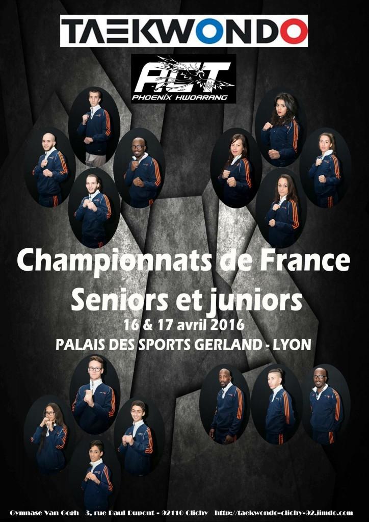TEAM ACT CHAMPIONNATS DE FRANCE 2016 JUNIORS SENIORS