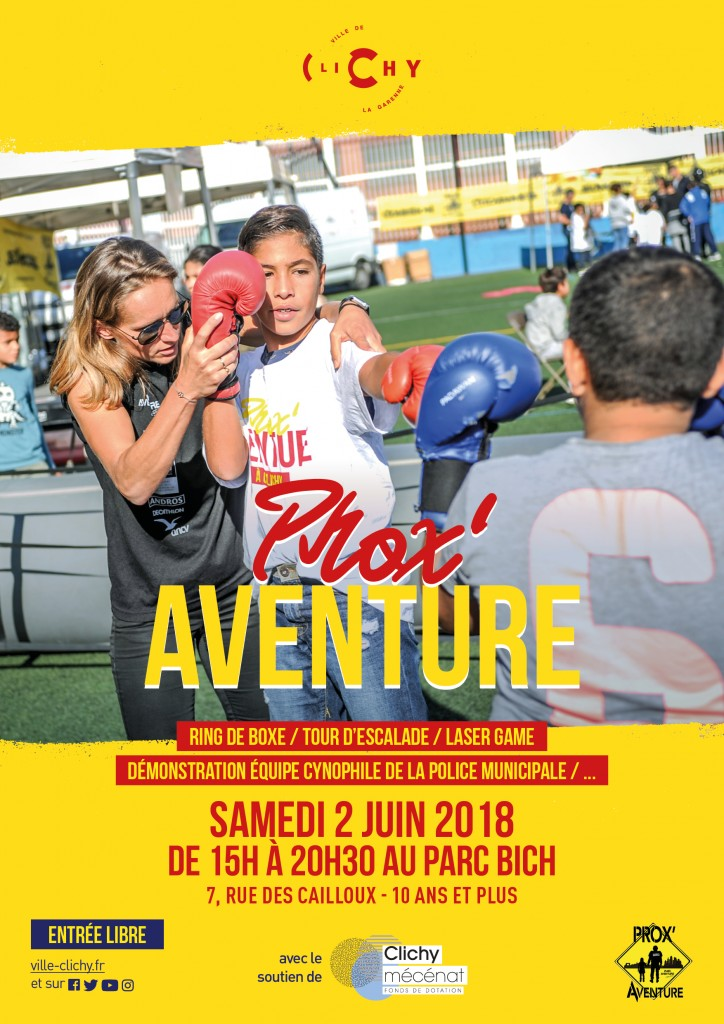 Prox'Aventure - Affiche - A3 - 2 juin