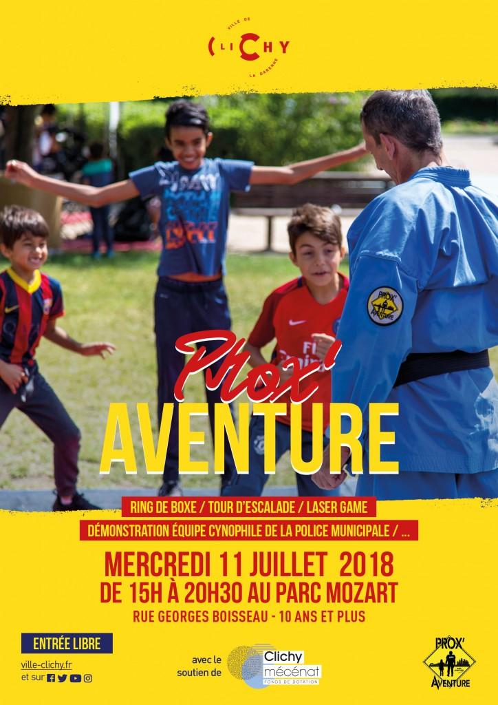 Prox'Aventure - Affiche - A3 - 11 Juillet